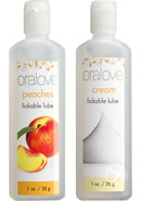 Oralove Delicious Duo Lickable Peaches...